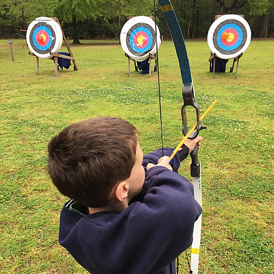 Archeryturnier am Geburtstag