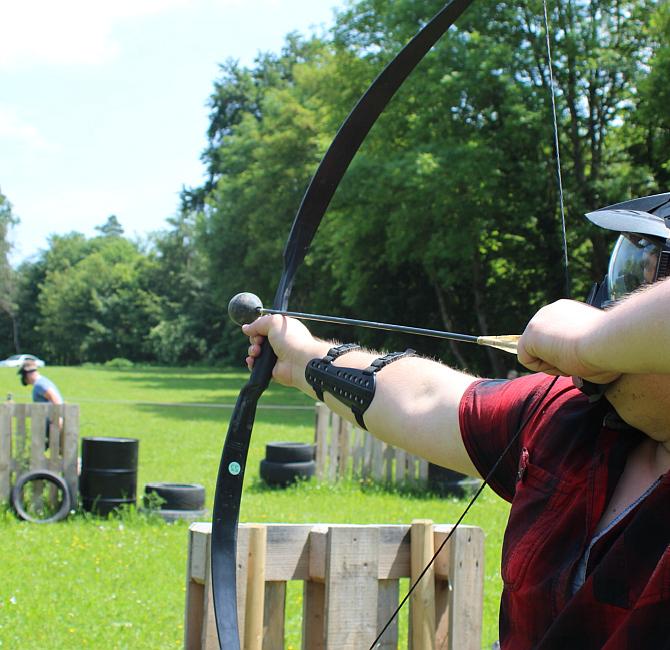 Combat Archery Taktische Vorgehensweise