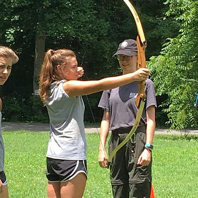 Familiy Archery, Familienausflug Bogenschießen