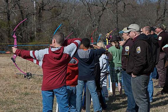 Gruppenausflug Schießen mit Pfeil und Bogen