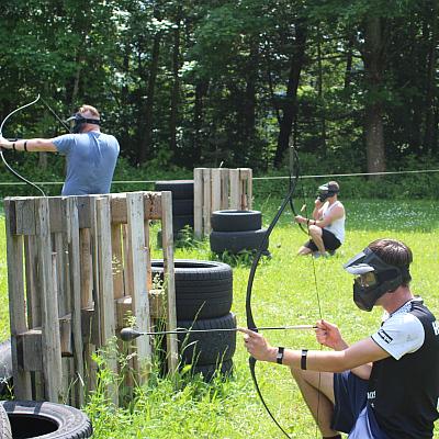 Junggesellenabschied Archery Combat