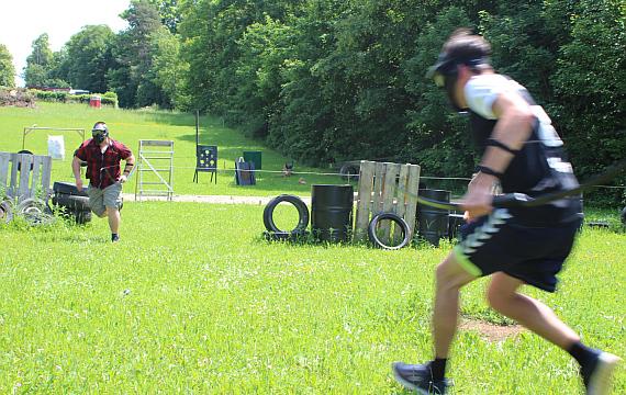 Junggesellenabschied Combat Archery
