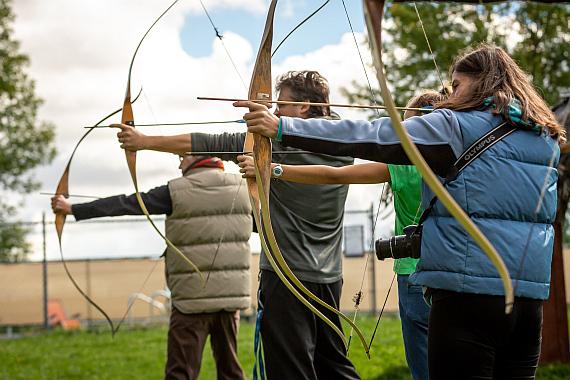Kick off Veranstaltung Archery Erlebnisse