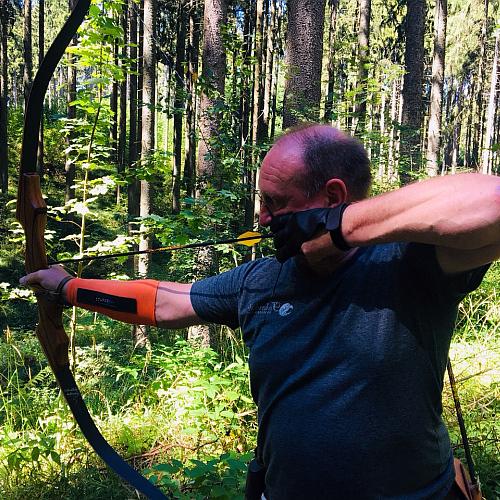 Lizenznehmer Bogenparcours